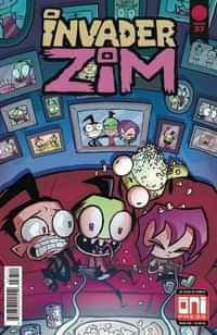 Invader Zim #37 CVR A