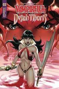 Vampirella Dejah Thoris #3 CVR B Segovia