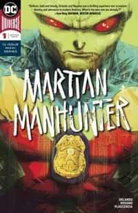 Martian Manhunter #1 CVR A