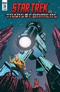 Star Trek Vs Transformers #3 CVR B Fullerton