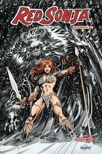 Red Sonja #24 CVR C Mandrake