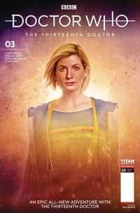 Doctor Who 13th #3 CVR B Brooks