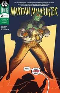Martian Manhunter #2 CVR A