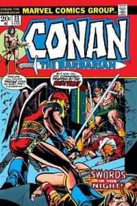 True Believers One-Shot Conan Swords in Night