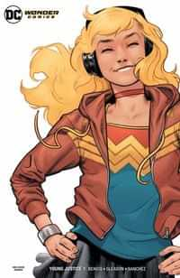 Young Justice #1 CVR G Wonder Girl