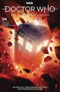 Doctor Who 13th #4 CVR B Brooks