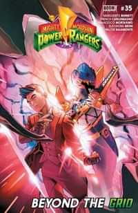 Mighty Morphin Power Rangers #35 CVR A