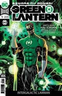 Green Lantern #1 Second Printing