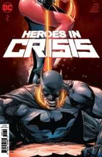Heroes In Crisis #2 Second Printing