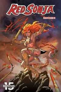 Red Sonja #1 CVR A Conner