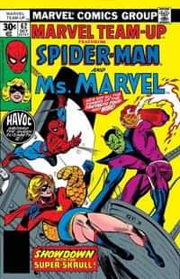 True Believers One-Shot Captain Marvel Spider-Man and Ms Marvel