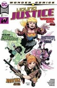 Young Justice #2 CVR A