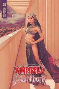 Vampirella Dejah Thoris #5 CVR F Dejah Thoris Cosplay