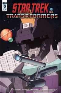 Star Trek Vs Transformers #5 CVR B Burcham