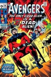 True Believers One-Shot Captain Marvel Kree Skrull War