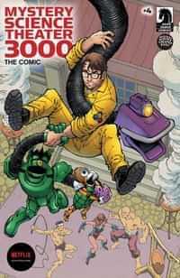 Mystery Science Theater 3000 #4 CVR A Nauck