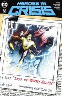 Heroes In Crisis #6 CVR B