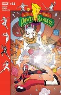 Mighty Morphin Power Rangers #36 CVR B Preorder Murphy