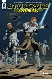 Star Wars Adventures #19 CVR A Mauricet