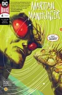 Martian Manhunter #4 CVR A