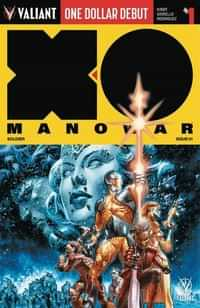 X-O Manowar #1 Dollar Debut