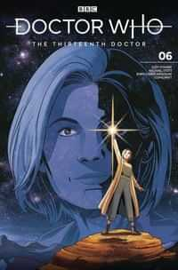 Doctor Who 13th #6 CVR A Sposito