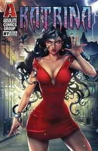 Katrina #1 Variant White Widow CVR