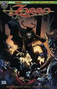 Zorro Swords Of Hell #4 CVR A