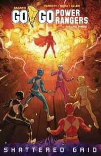Go Go Power Rangers TP V3