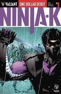 Ninja-K #1 Dollar Debut (reprint)