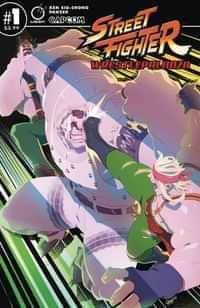Street Fighter Wrestlepalooza #1 CVR B Cruz