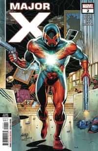 Major X #2 Second Printing Liefeld