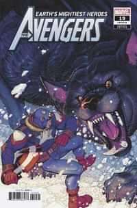 Avengers #19 Variant Bradshaw