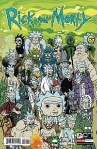 Rick and Morty #50 CVR B Horak Rick Connecting