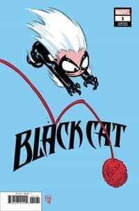 Black Cat #1 Variant Young