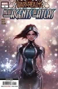 War of Realms New Agents of Atlas #1 Second Printing