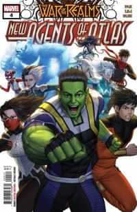War of Realms New Agents of Atlas #4