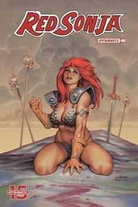 Red Sonja #6 CVR B Linsner