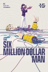Six Million Dollar Man #5 CVR A Walsh