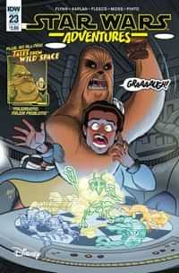 Star Wars Adventures #23 CVR A Fleecs