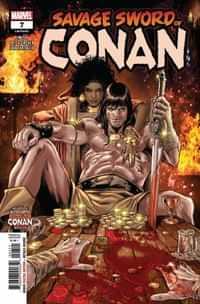 Savage Sword Of Conan #7