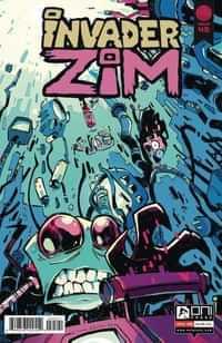 Invader Zim #45 CVR B