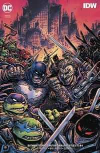 Batman Teenage Mutant Ninja Turtles III #4 CVR B