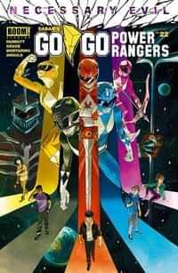 Go Go Power Rangers #22 CVR A Shavrin
