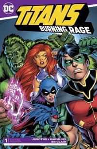 Titans Burning Rage #1