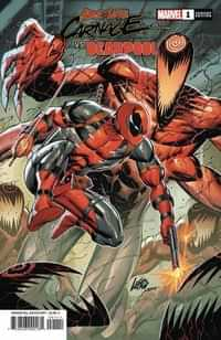Absolute Carnage Vs Deadpool #1 Variant Liefeld Connecting