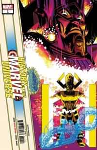 History of Marvel Universe #1 Second Printing Rodriguez