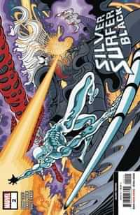 Silver Surfer Black #2 Second Printing Moore