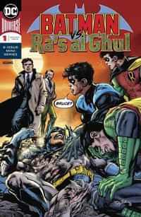 Batman Vs Ras Al Ghul #1 CVR A