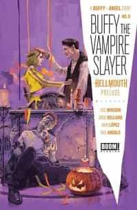 Buffy The Vampire Slayer #8 CVR A Aspinall
